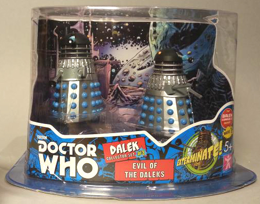 Dalek Collector Set #3 Evil of the Daleks