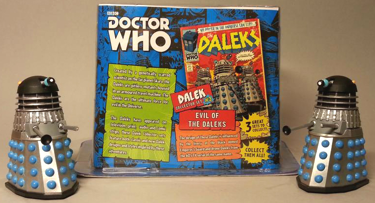 Daleks and Pack Reverse from Dalek Collector Set #3 Evil of the Daleks