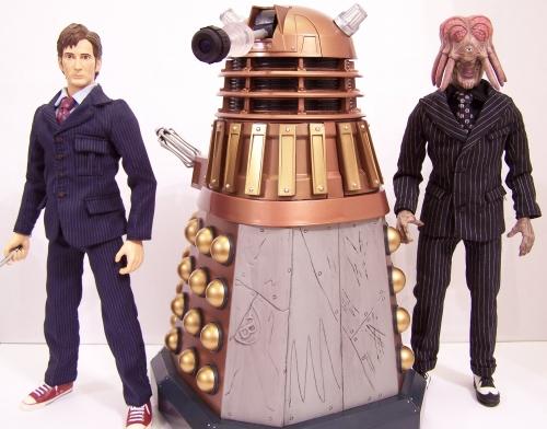 Doctor Who Dalek Exclusive History of the Daleks Set #1 ** NEUF **