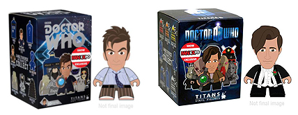Fan Expo Titans Exclusives Tenth Doctor (Journey's End/Partners In Crime) and Eleventh Doctor in Tuxedo