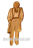 Fifth Doctor enamel badge  - Thanks Ian O