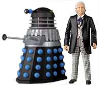 First Doctor with Supreme Dalek