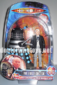 The First Doctor William Hartnell & Saucer Dalek (Invasion of Earth 1964) - Colour Version