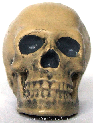 The First Doctor Skull Accessory