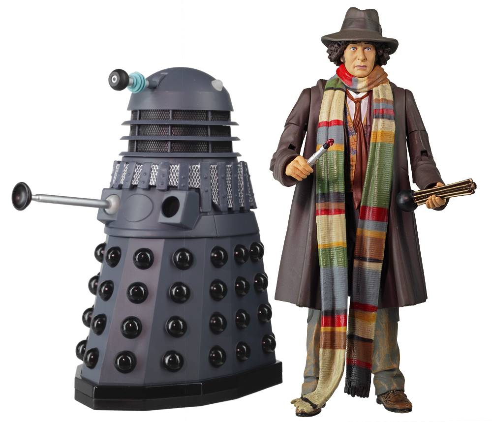 Fourth Doctor with Dalek