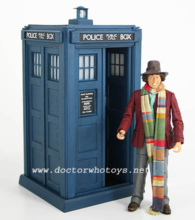 The Fourth Doctor & Classic Tardis