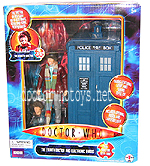 Fourth Doctor and Electronic Tardis