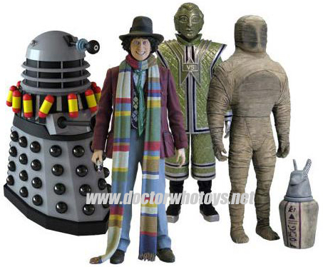 Doctor Who Classic Series The Fourth Doctor Adventure Set