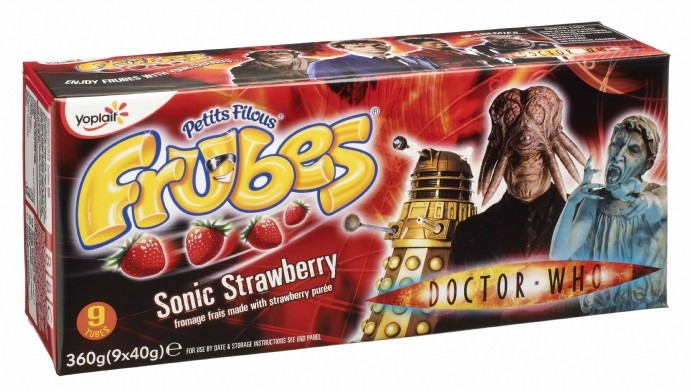 Limited Edition Doctor Who Frubes