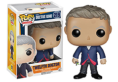 Twelfth Doctor Who Funko Pop Vinyls
