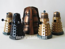 Genesis Ark and Daleks - Cult of Skaro