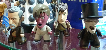 Titans Mini Vinyl 11th Doctor Geronimo Collection - War Doctor, 'Monster' Eleventh Doctor, Roman Rory and Whisper man