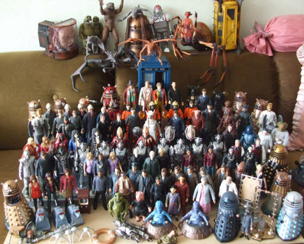Graham's Doctor who Action Figure Collection - Thanks Graham