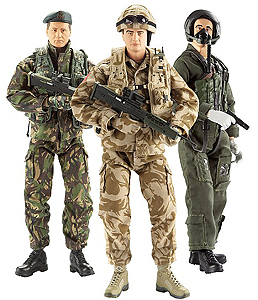 HM Armed Forces Action Figures