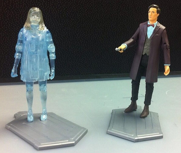 Hide Caliburn House Adventure Set Hologram Clara and Exclusive Doctor