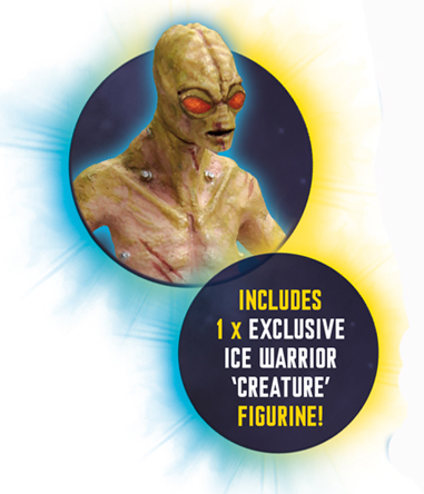 Ice Warrior Creature Figurine from Cold War Playset