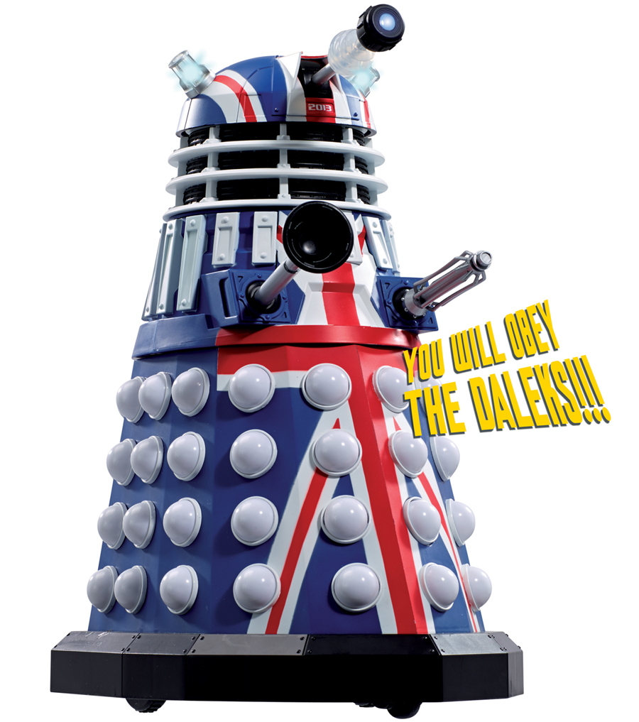 Limited Edition 50th Anniversary British Icon Collector's Dalek