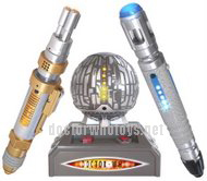 Interactive Sonic and Laser Screwdriver Set