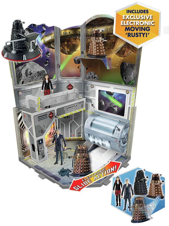 Into the Dalek Set