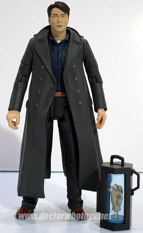 Captain Jack Harkness with The Doctor's Severed Hand in Jar