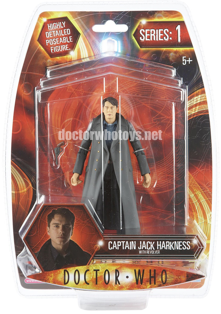 Doctor Who  Action Figures - Captain Jack Harkness with Revolver