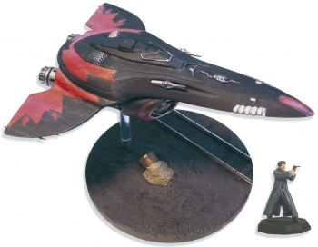 Captain Jack's Chula Ship with Captain Jack Harkness Figure
