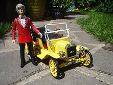 3rd Doctor with Bessie