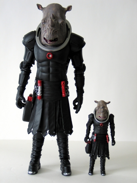 Judoon Captain 12 Inch and 5 Inch Action Figures