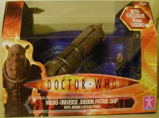 Micro Universe Judoon Patrol Ship with Judoon Captain Figure - Thanks James