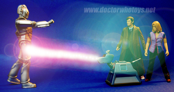 Cyberman, K9, the Doctor and Rose - Thanks Robert