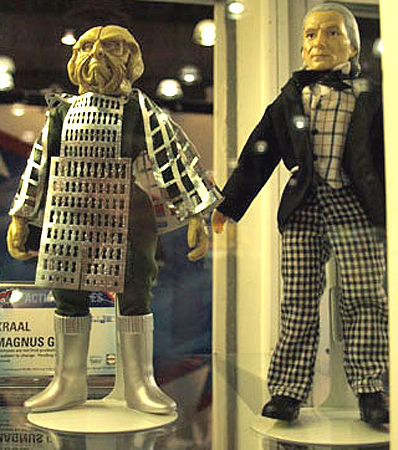 Bif Bang Pow Kraal and First Doctor Figures