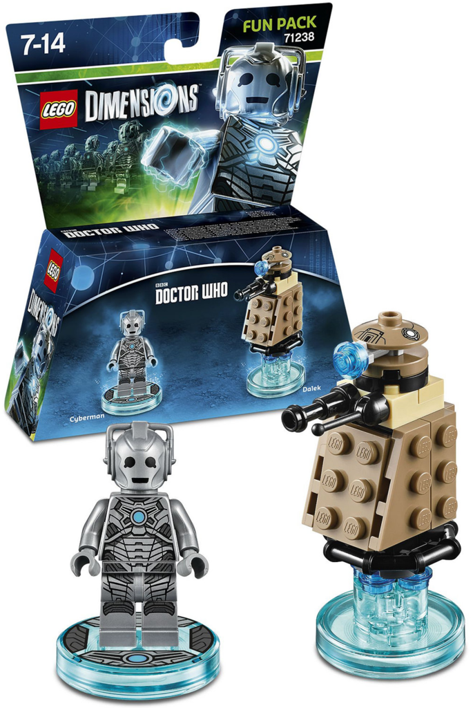 Doctor Who Lego Dimensions Cyberman and Dalek