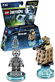 Lego Dimensions Doctor Who - Cyberman and Dalek