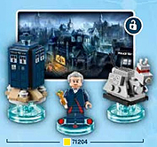 Lego Dimensions Doctor Who - Twelfth Doctor, Tardis & K9