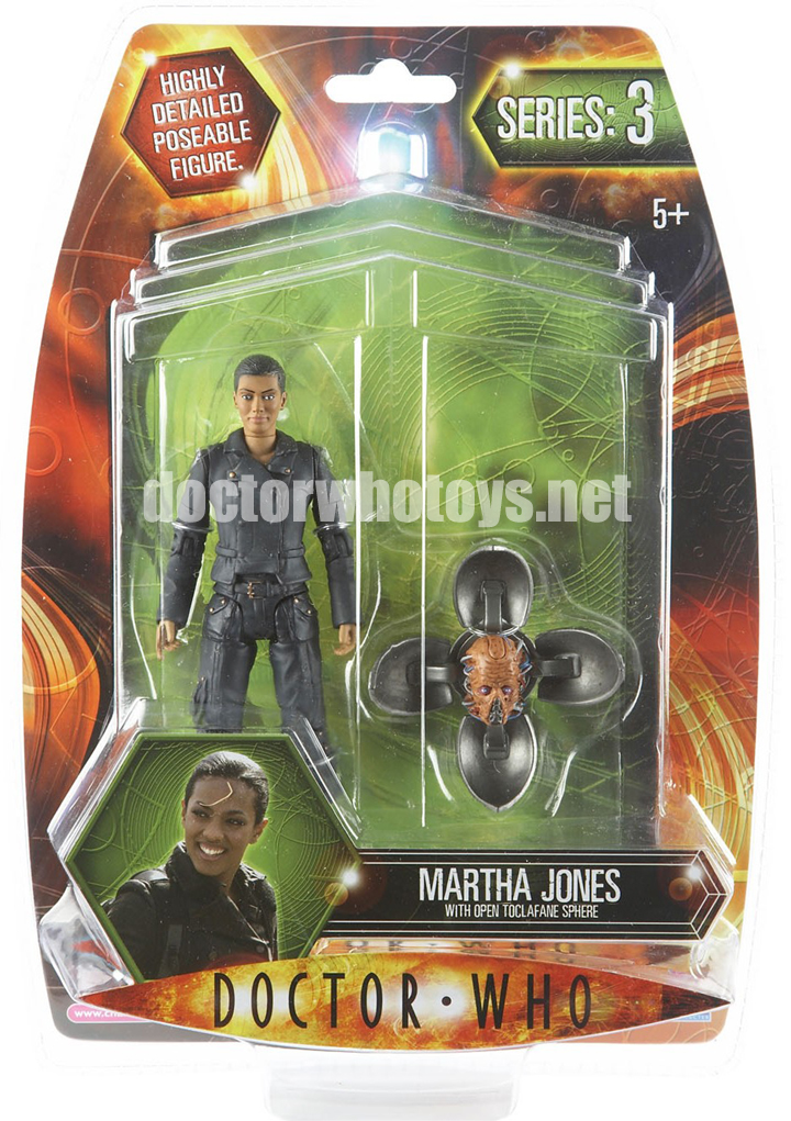 Martha Jones with Open Toclafane Sphere