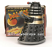 Marx Dalek Friction Drive 4.5 inch (black) c 1965