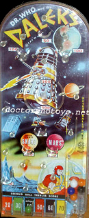 Marx 1960s Dr Who and the Daleks Bagatelle