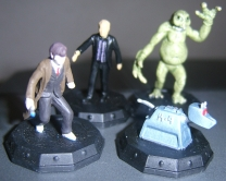 Doctor in Long Coat, Auton, Slitheen and K-9