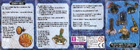 Micro-Universe Rules/Collector Leaflet - Thanks Mike