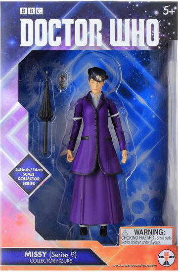 Series 9 Missy in Bright Purple Outfit Pack