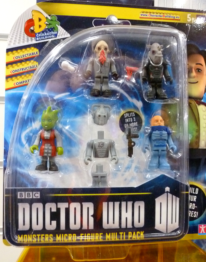 Character Building Monsters Micro-Figure Multi Pack
