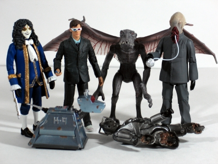 Newbury Comics Doctor Who 6 Figure Gift Pack