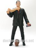 The Ninth Doctor with Auton Arm, Auton Mickey Head and Anti Plastic Bomb