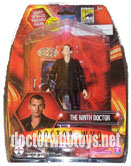 SDCC Ninth Doctor in Green Top & Top Trumps Card - Thanks Doctor Who Stockist 11
