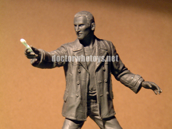 The Ninth Doctor Sculpt - All images exclusively approved for use only on doctorwhotoys.net by Designworks, Character Options and BBC