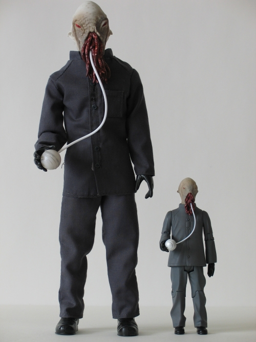 The Ood 12 Inch and 5 Inch Action Figures