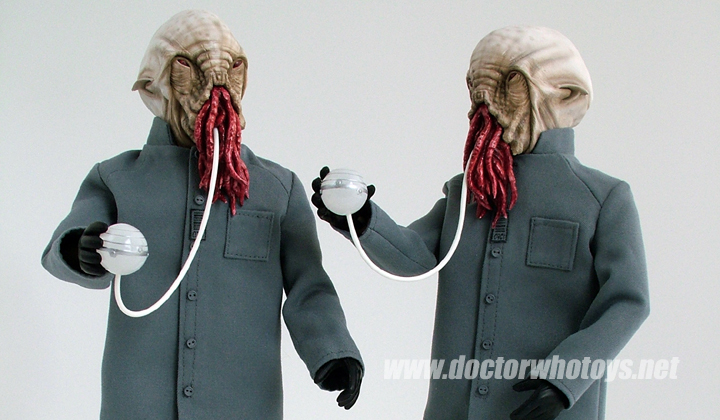 Ood 12 Inch Approval Deco - All images exclusively approved for use only on doctorwhotoys.net by Designworks, Character Options and BBC