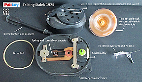 Palitoy Talking Dalek Mechanism