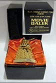 Product Enterprise Gold Plated Miniature Talking Movie Daleks - Thanks Lewis
