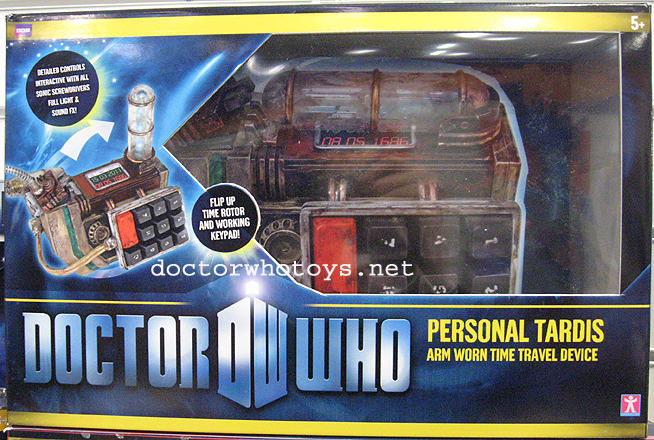 Doctor Who Personal Tardis Arm Worn Time Travel Device